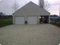 Construction de garages annexes
